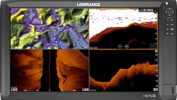 The HDS Carbon 16 has the largest screen that Lowrance has ever produced.