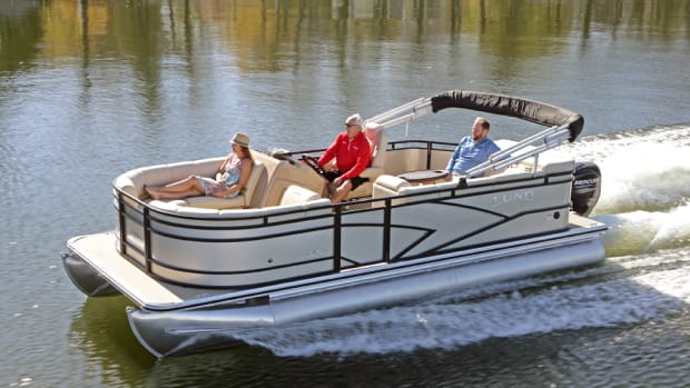 Lund Boats said its LX Series of pontoons reflect the brand's 70-year heritage and have been designed all new from the ground up.