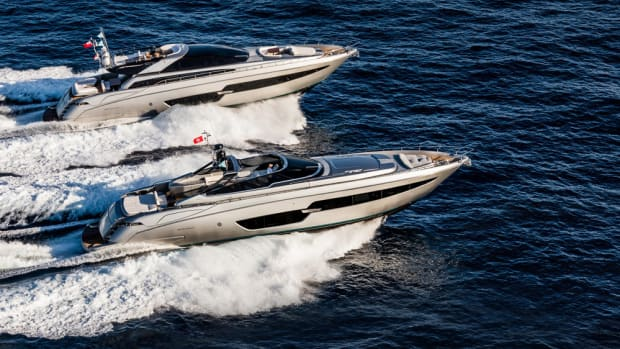 Two new Riva models made their Persian Gulf debut during the Formula 1 auto race that wrapped up Sunday in Abu Dhabi.
