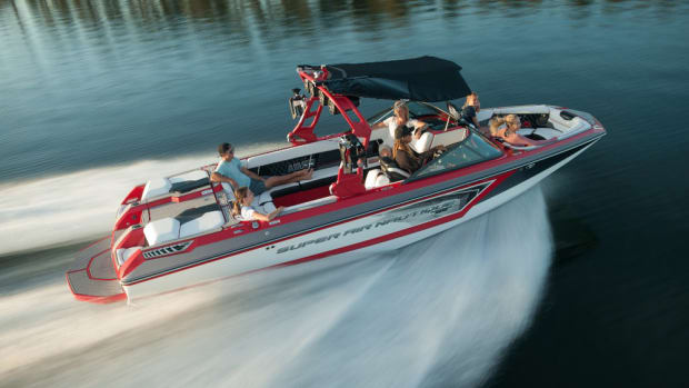 The Nautique GS24 is designed to be versatile and spacious.