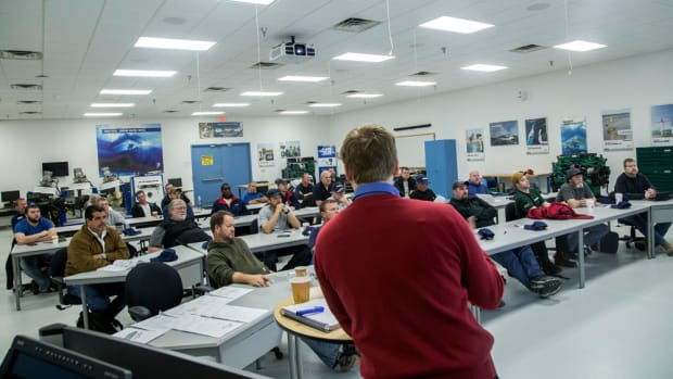 The primary objective of the program is to develop and prime the pool of technicians for employment at Volvo Penta dealerships without the students having to travel too far.