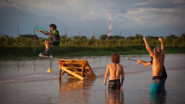 The Kam-Air Wake Park is Cambodia's only wakeboarding facility.