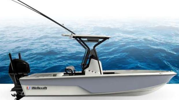 The Wellcraft Fisherman 221 bay boat is one of several models that will be unveiled at FLIBS.