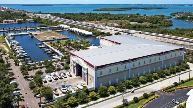 The Loggerhead marina in St. Petersburg, Fla., is among the 11 Suntex acquired.