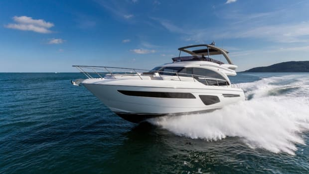 Princess Yachts is adding the Princess 62 to its range of flybridge yachts.
