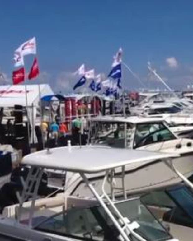 TRADE ONLY: Scenes from the 2014 Palm Beach International Boat Show