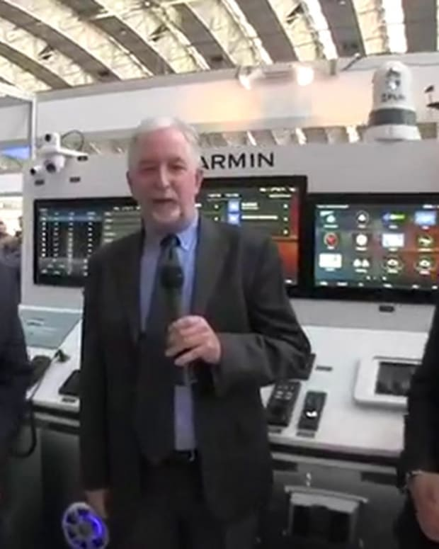 Interview with Garmin executives at METSTRADE 2018