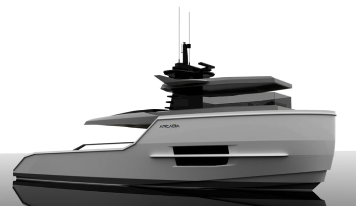 arcadia yachts unveils new 55-footer