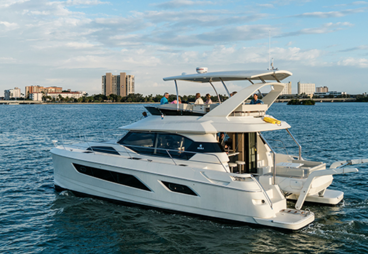 The Aquila 44 will be one of three models offered in the brand's international expansion.