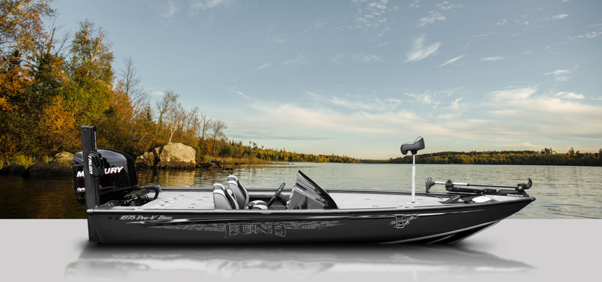 Lund says its new 1875 Pro-V Bass boat reflects far-reaching research, development and professional-angler input.
