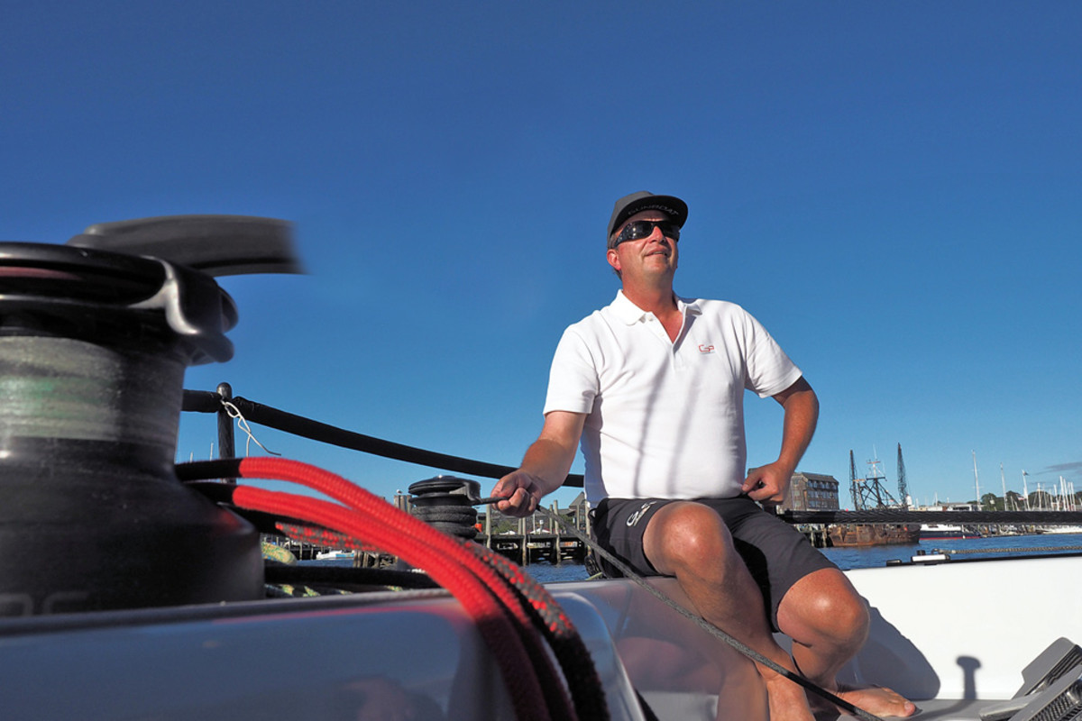 Johnstone has spent 30 years in the industry and is part of a prominent boatbuilding family.