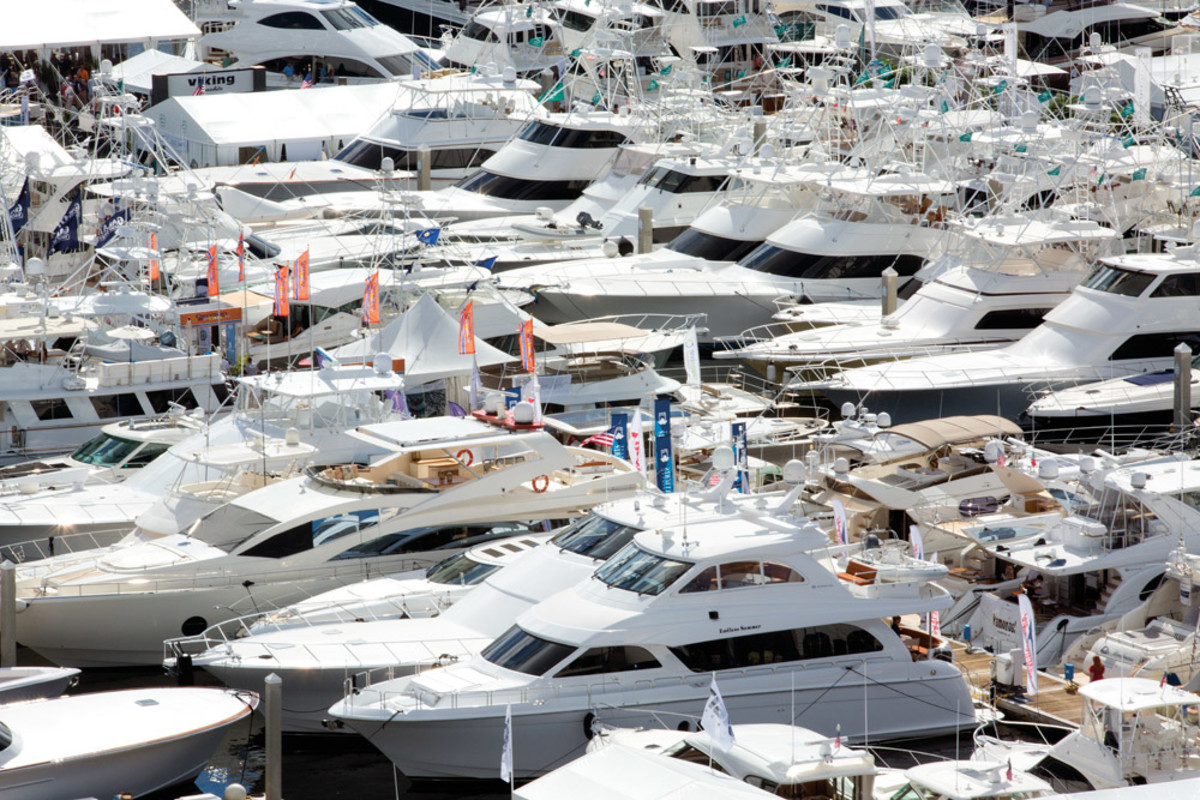 The show comprises seven venues, and this year's production will feature $4 billion in products, including 1,500 boats. The vast array of boats and gear is spread over 3 million square feet.