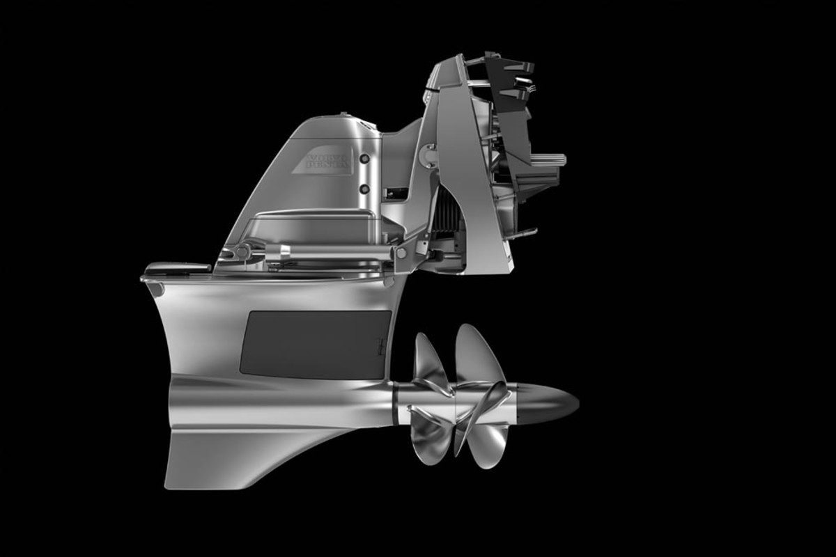 Among Volvo Penta's recent new offerings is the Forward Drive with forward-facing dual props for the new gasoline sterndrives.