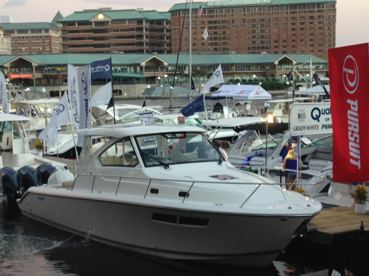 The show will have more than 275 boats and exhibits in land and on the water at the Tampa Convention Center.