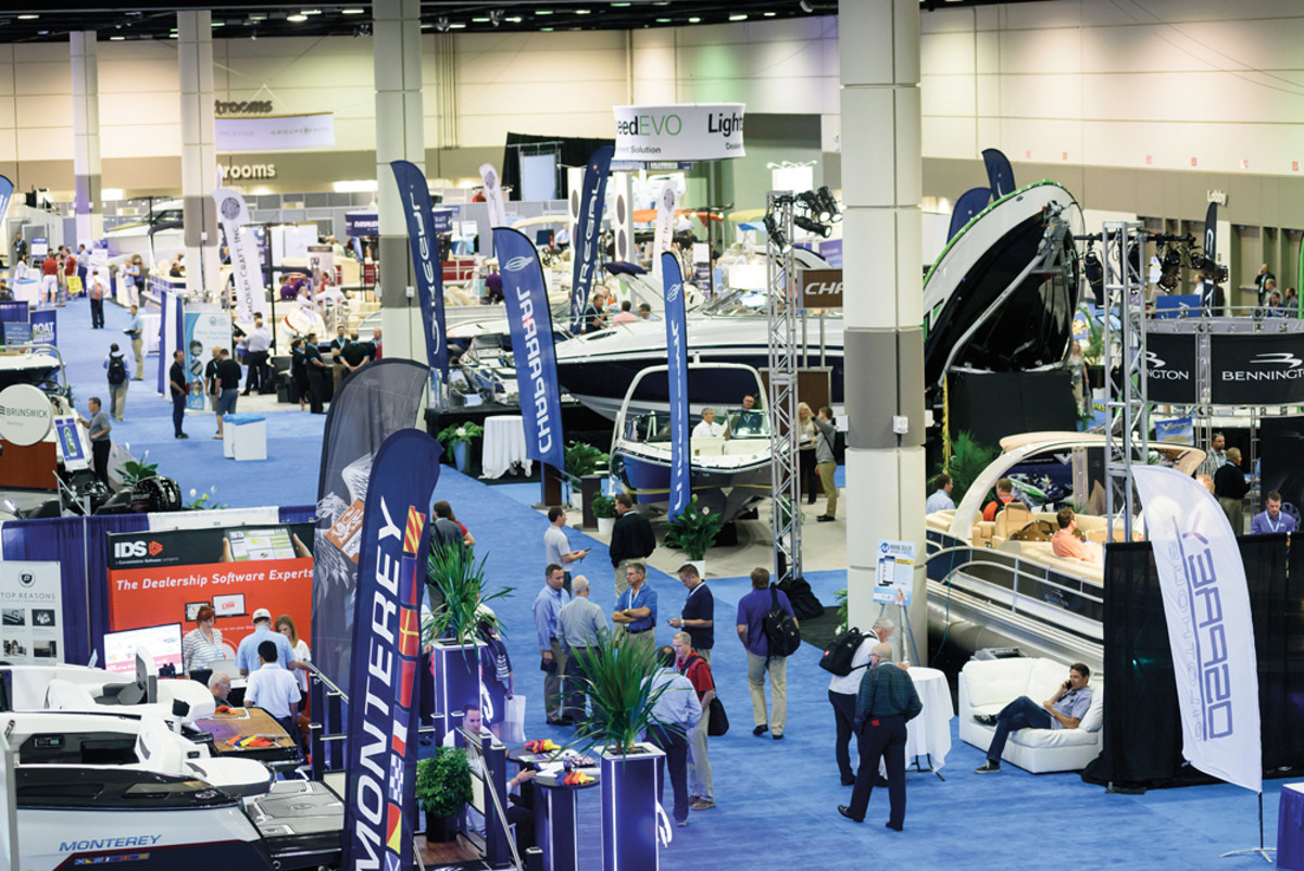 There were more than 100 exhibitors and a sold-out expo hall.