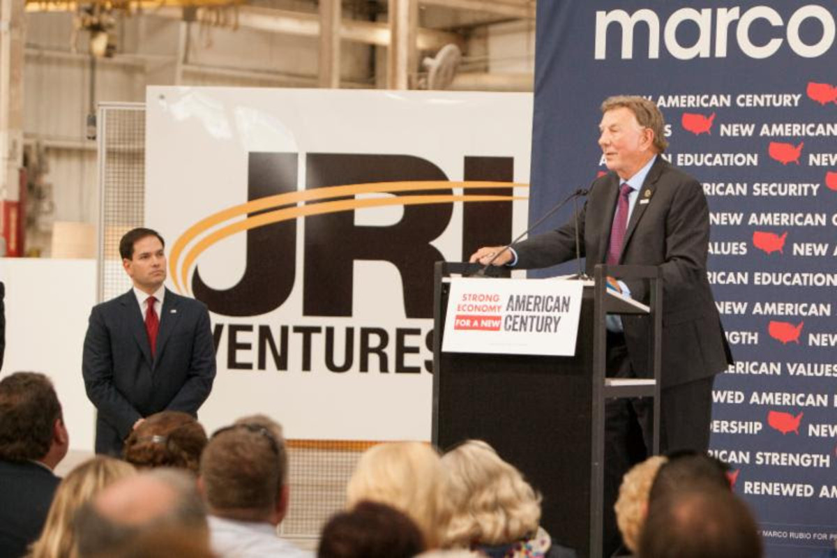 JRL Ventures/Marine Concepts CEO Bob Long opened the meeting by discussing the growth of his business.