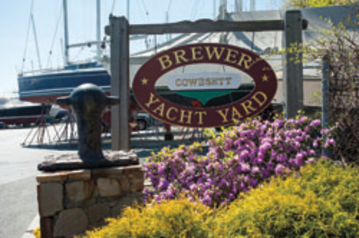 Brewer Yacht Yards, Cowesett, Warwick, RI