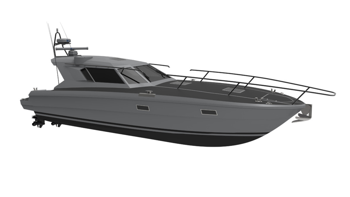 The Ferretti Group is entering the security and defense industry with the 20-meter FSD195, which is due out this summer.