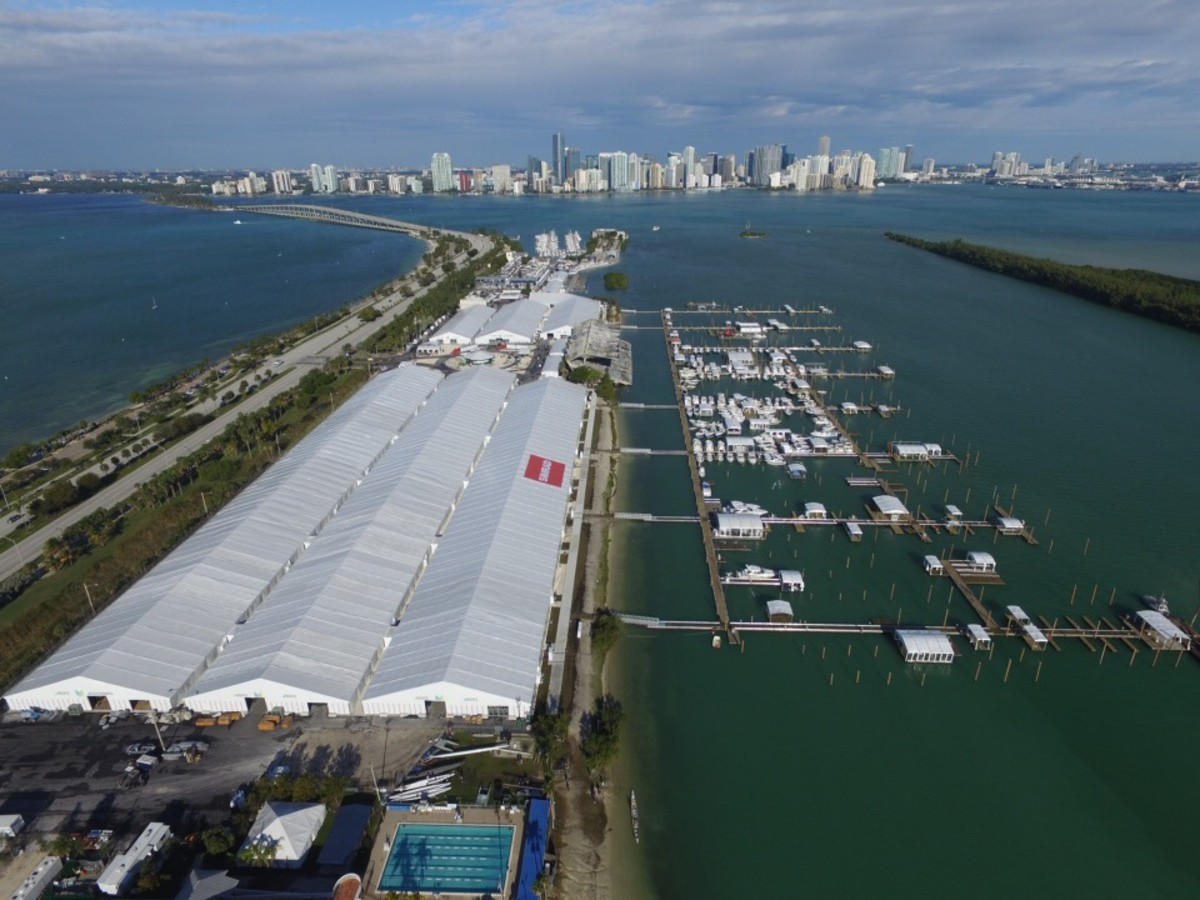 Supporters of Miami Marine Stadium say the Miami International Boat Show, set for later this week at the stadium park and basin, will renew interest in restoring the shuttered facility.