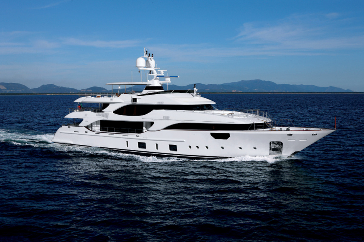 The Benetti Crystal 140 M/Y MR D is the new boat in the Italian builder's Class range.
