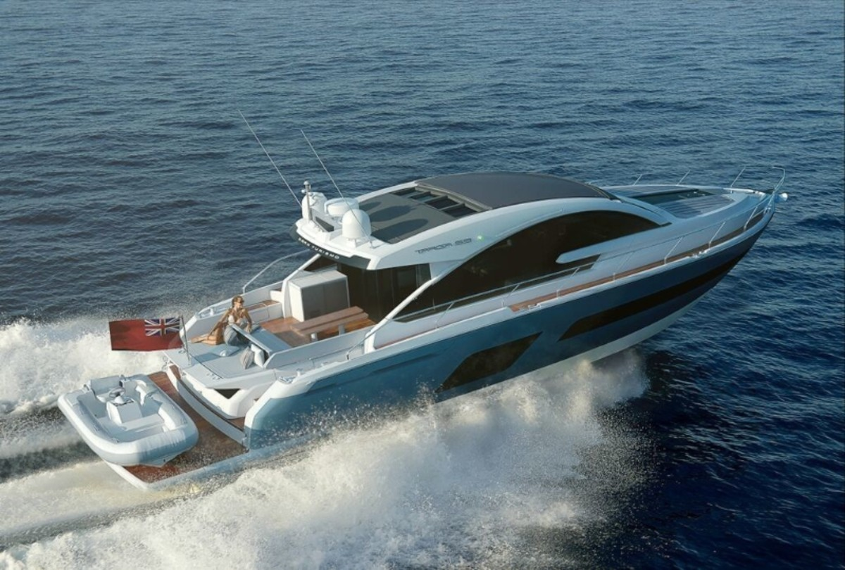 G Marine will display Fairline yachts that include the Targa 53 at Yachts Miami Beach.