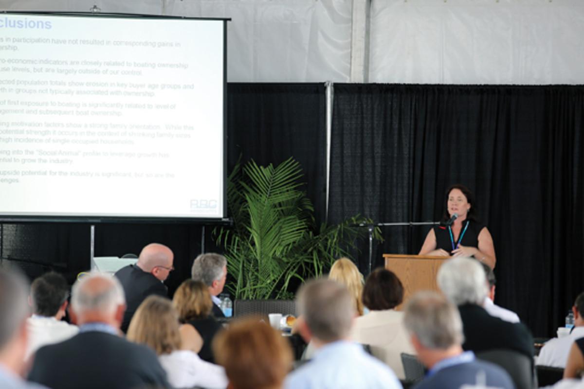 MIASF president Kristina Hebert.