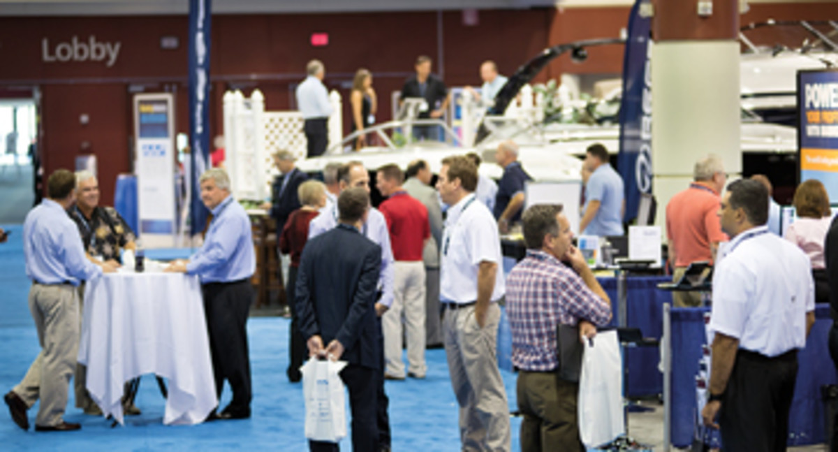 More than 30 percent of the dealers who registered for the MDCE had not previously attended.