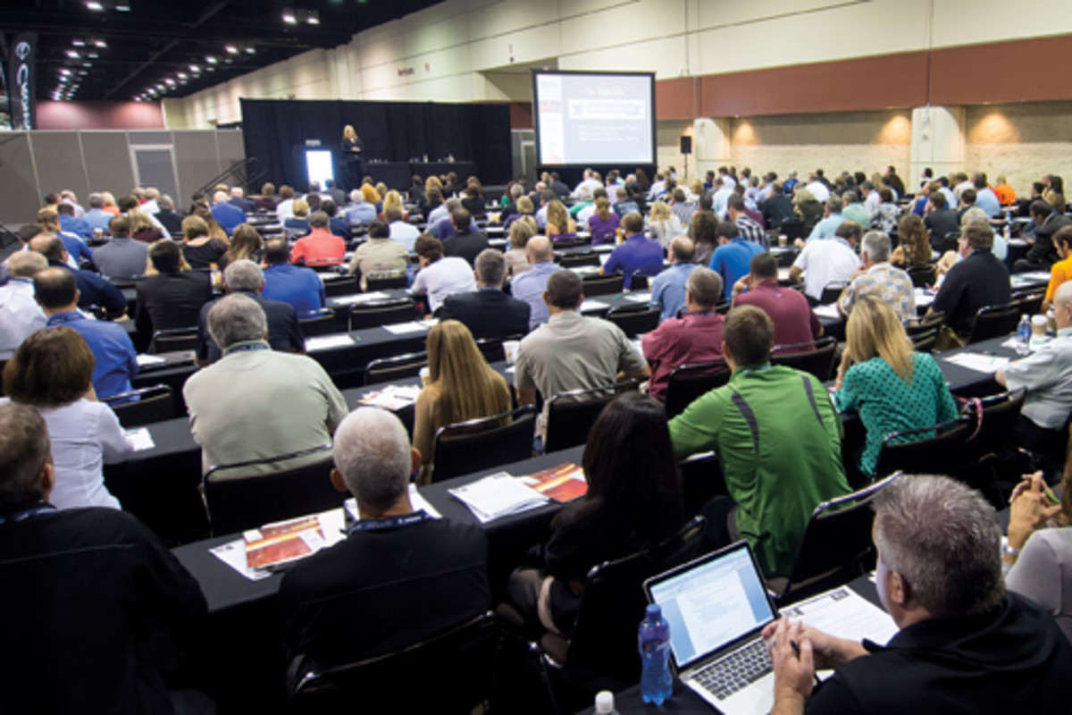 More than 600 dealers were among the record 1,130 conferees.