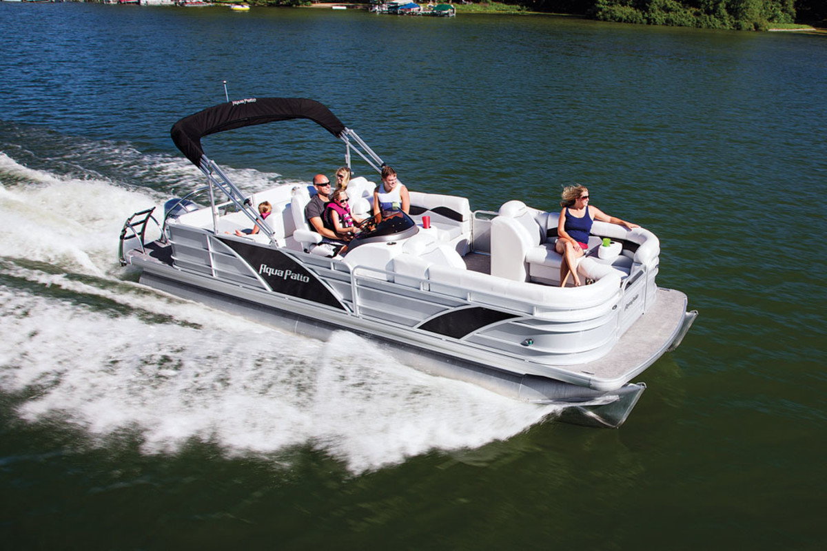 Nautic Global Group manufactures several pontoons including the Aqua Patio 240 SL.