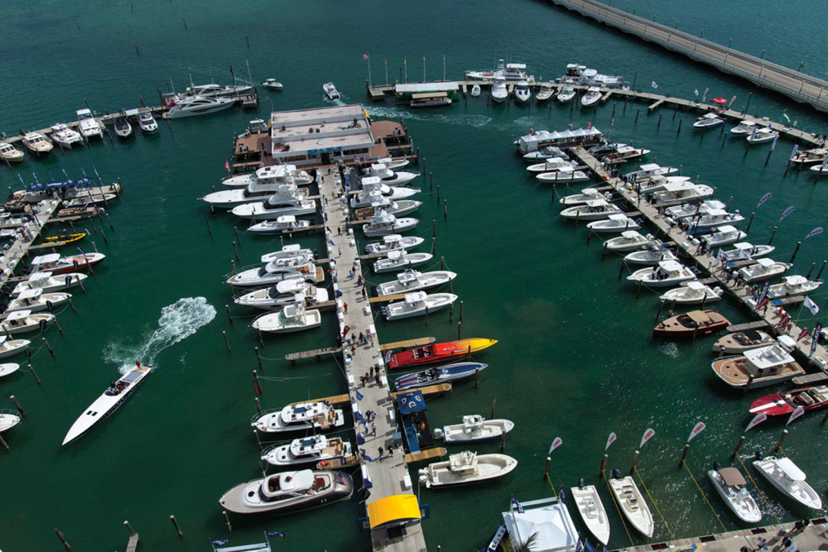 Sea trials will be offered at the show's Sea Isle Marina venue.
