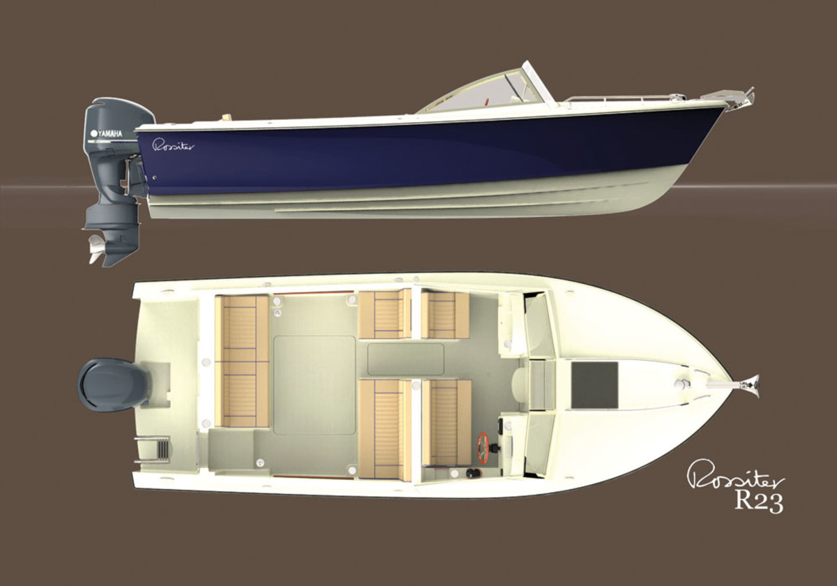 The new 23 Classic Dayboat.
