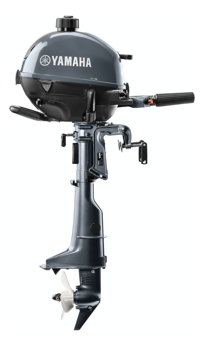 A modernized version of Yamaha's F2.5 outboard has a user-friendlier shift lever.