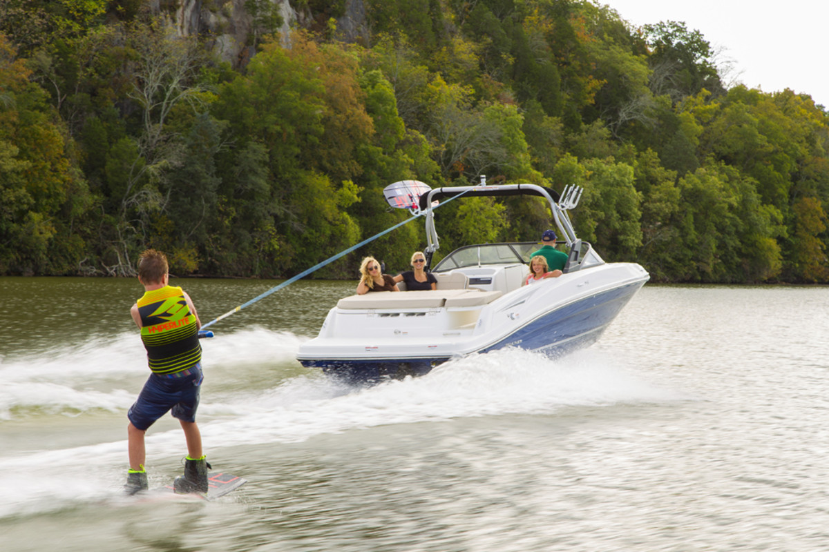 Bayliner's 160 Bowrider opens doors to new-boat ownership with a starting price of $13,899 that includes a 60-hp Mercury 4-stroke.