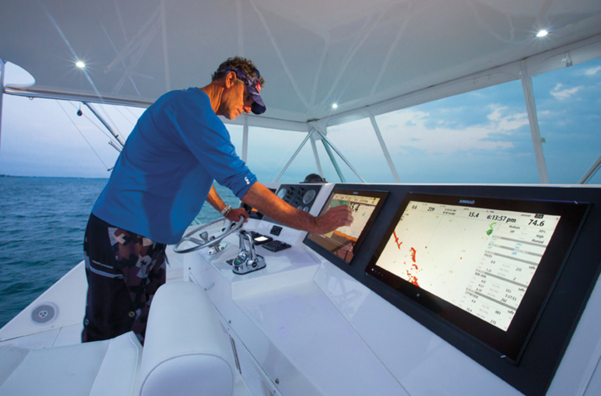 Navico demonstrated its newest products and technologies in January in the Florida Keys.