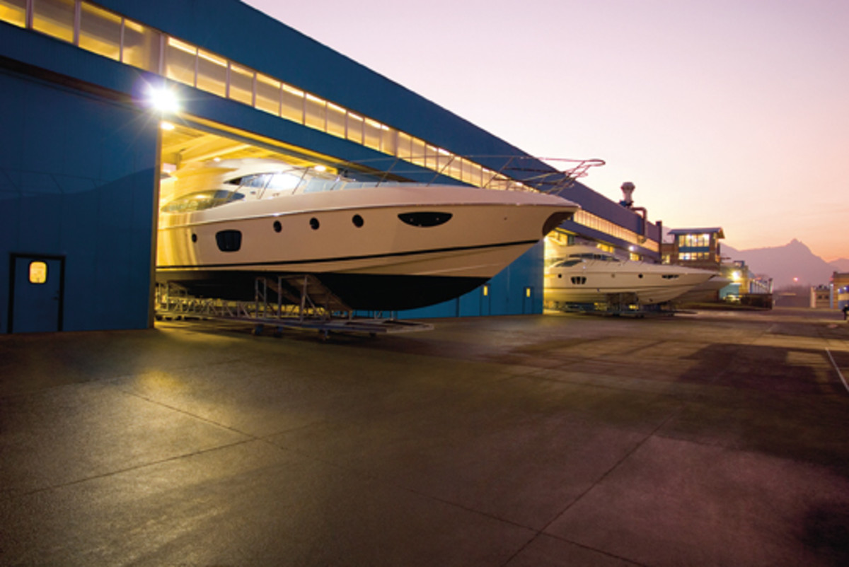 Concentrating yacht production in Avigliana is part of the new strategy.