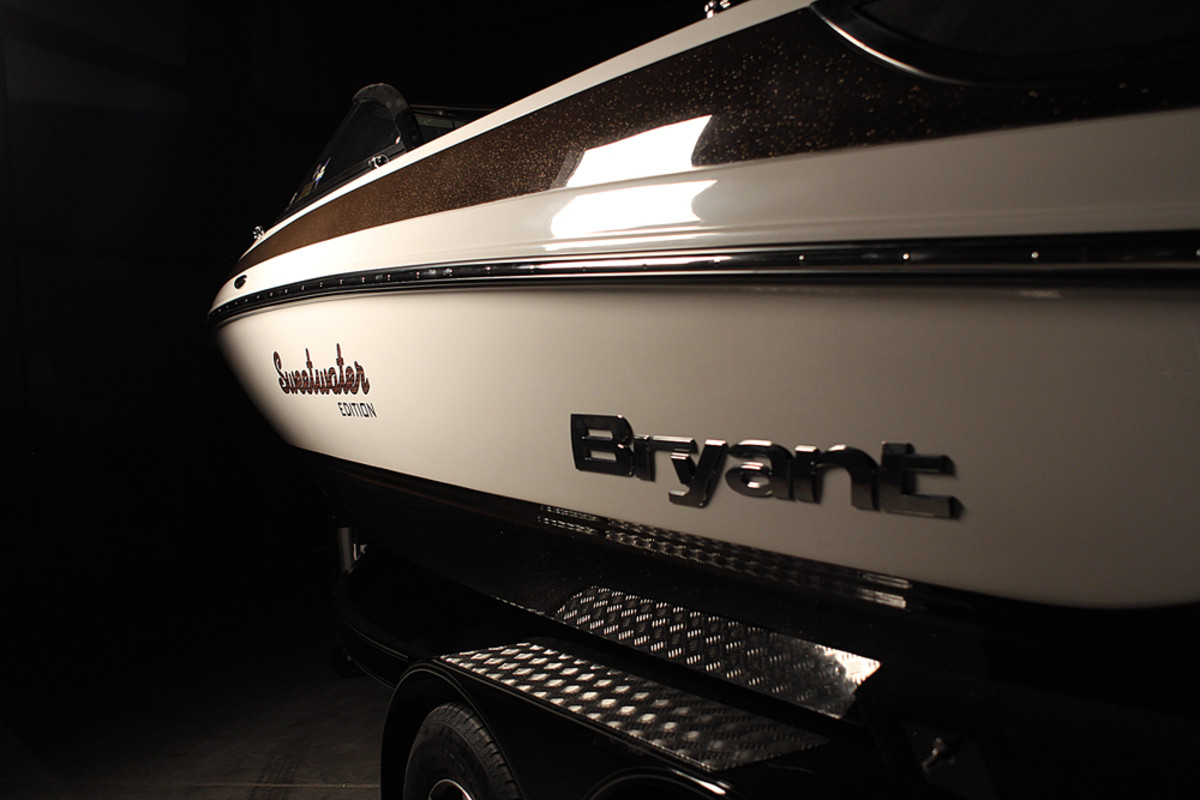 Smarter, prettier boats are the goal of Bryant CEO John Dorton.