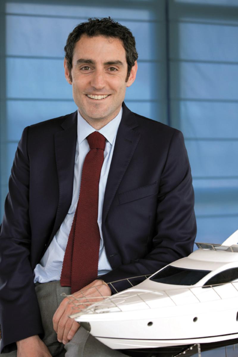 Azimut Yachts marketing director Francesco Ansalone.