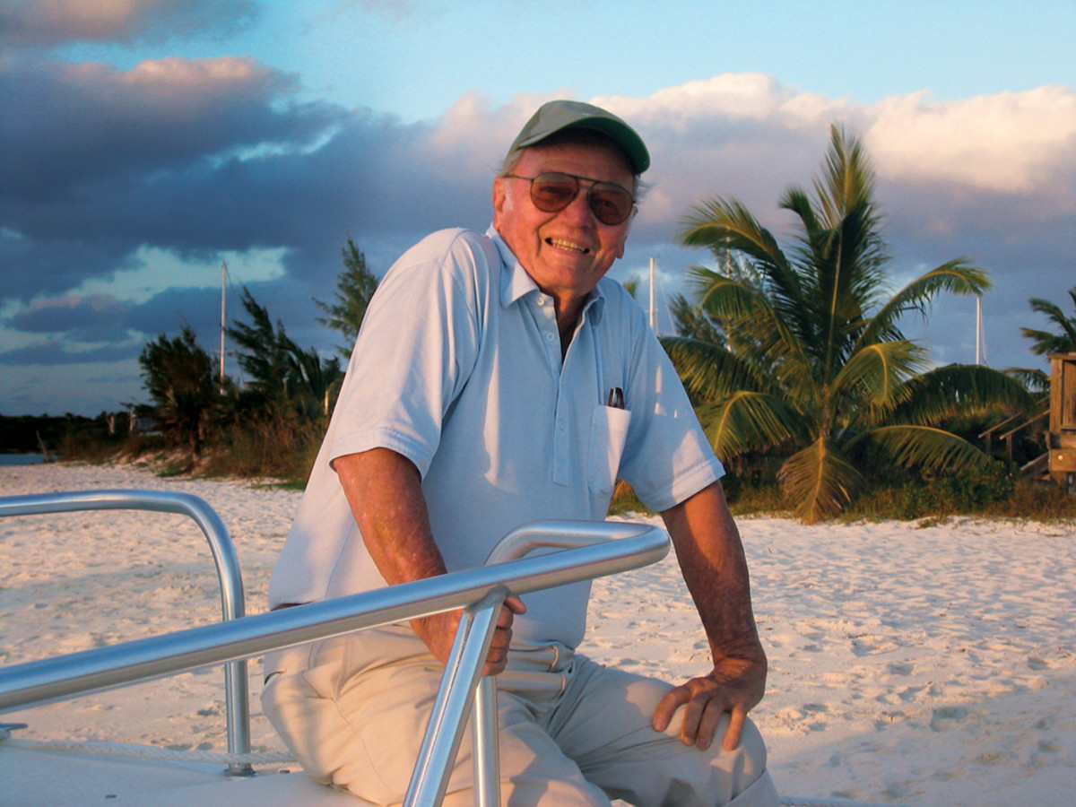 "George Lyle ""Skip"" Allen Sr. spent a lifetime on the water and built a career in marine publishing."