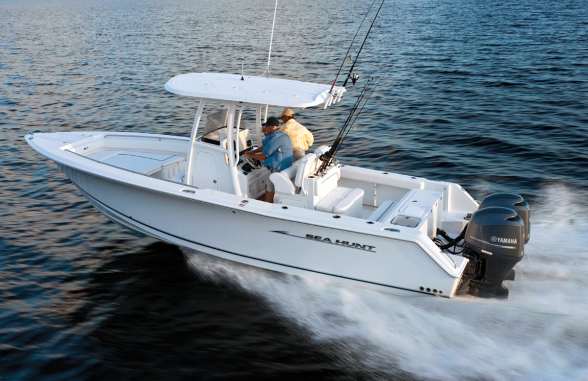 Sea Hunt has stood out as a top seller in a healthier center console market.