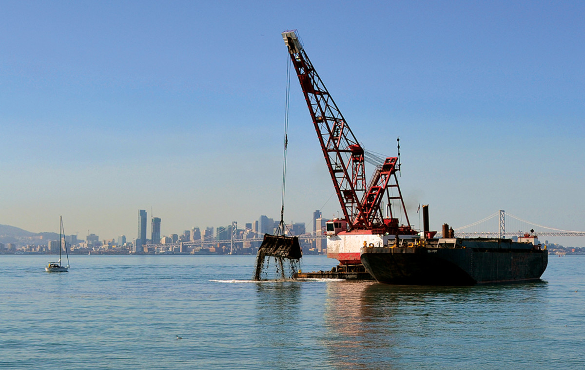 Funding for dredging projects is expected to be a congressional topic this year.