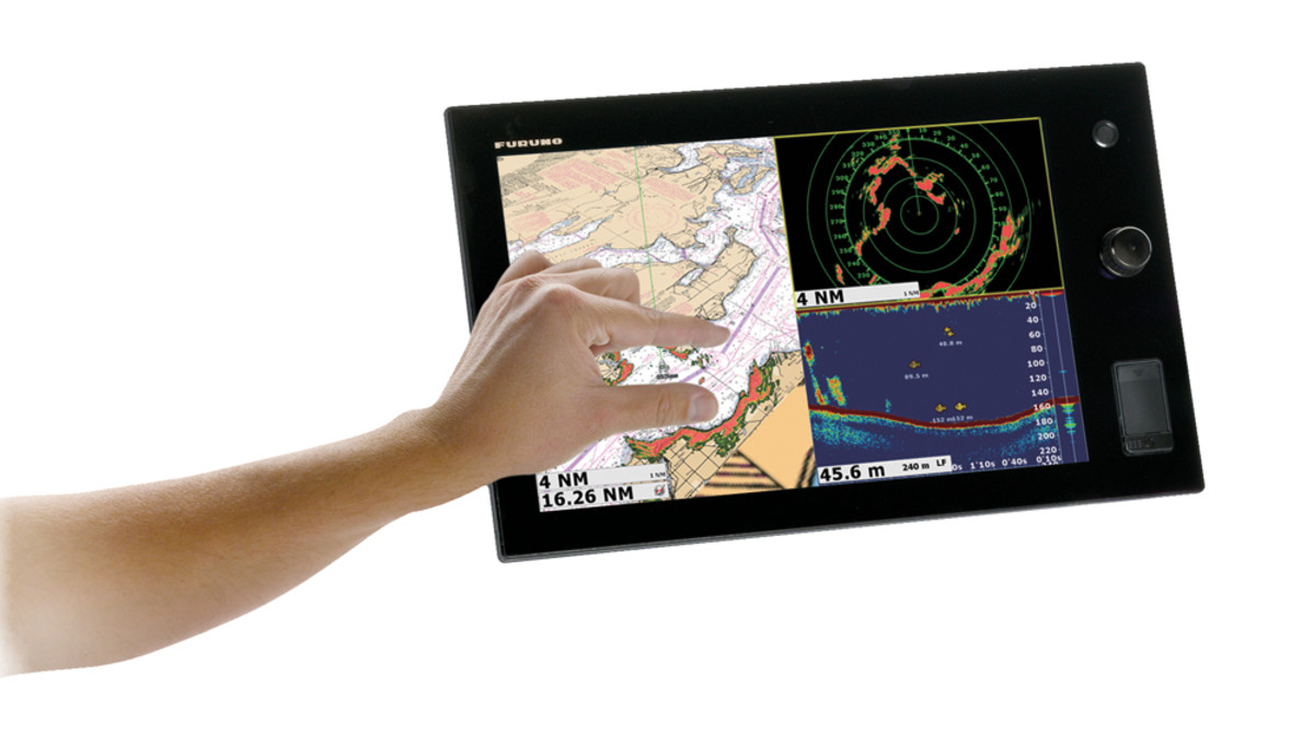 Pinch-and-zoom ability such as on this Furuno TZtouch unit continues to be a growing trend.