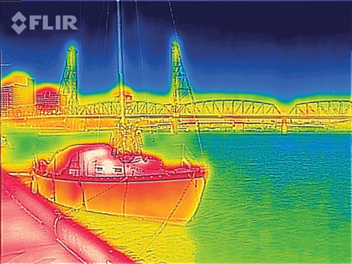 FLIR Systems earlier this year launched FLIR One, calling it the first personal thermal imaging device marketed to consumers.