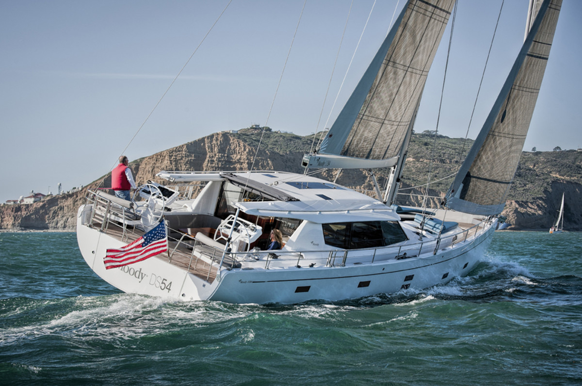 The Moody 54 Deck Saloon will make its Northern California debut at Strictly Sail Pacific.