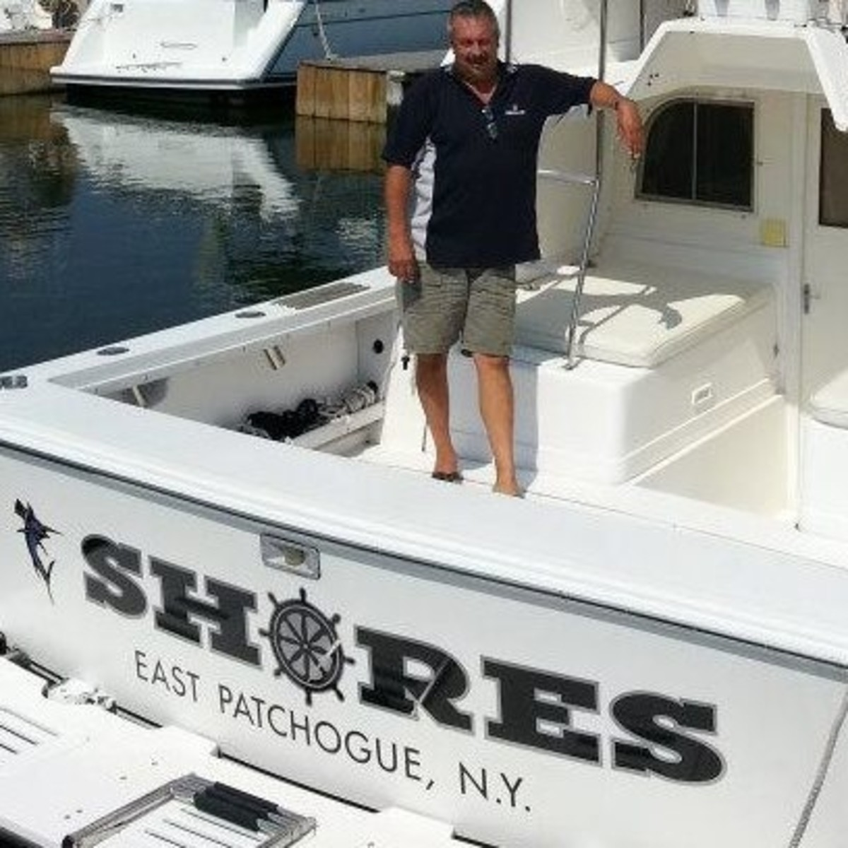 Dealer Dave Kazmark of Patchogue Shores Marina in East Patchogue, N.Y., says he is pleased with the Beneteau Group's acquisition of Rec Boat Holdings.