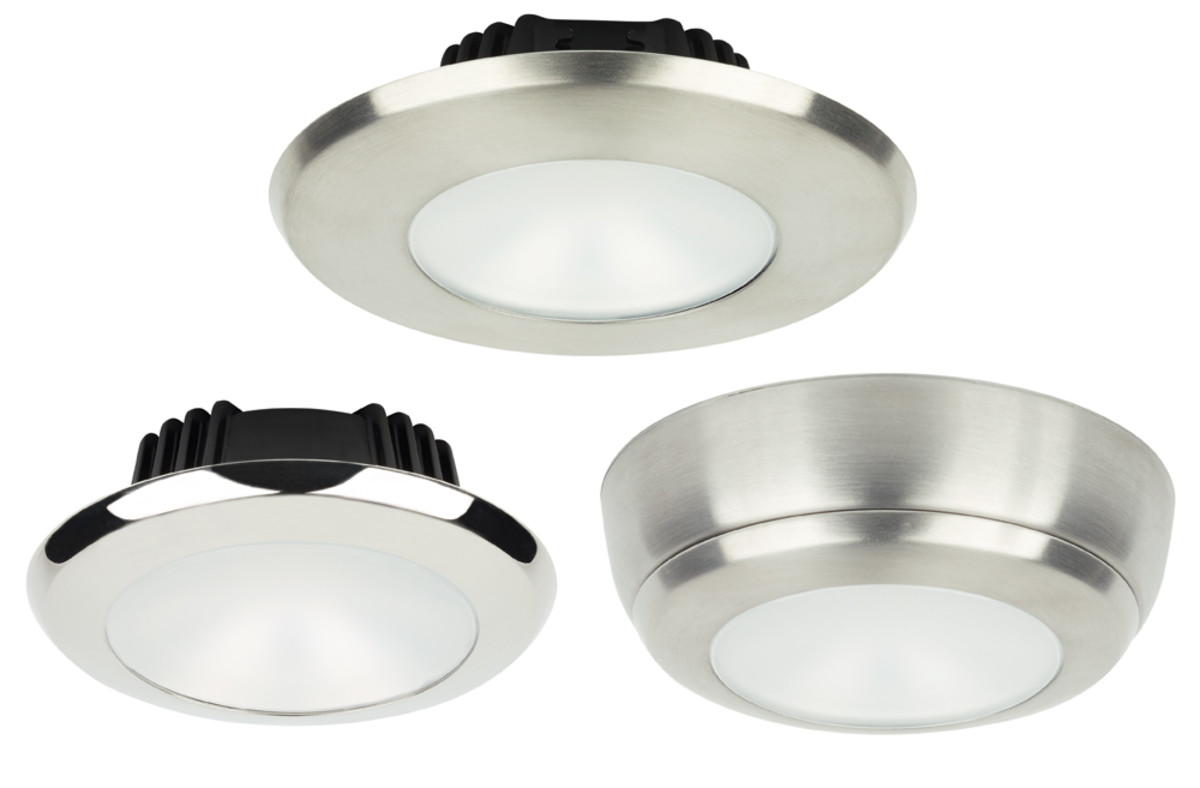 Imtra's new Sigma PowerLEDs use existing fixture locations, hole cutouts and two-wire cabling to make full-featured retrofits easy.