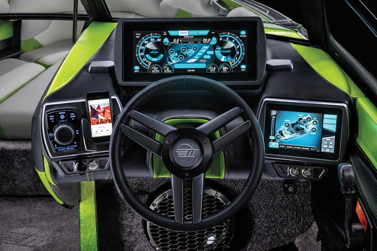 State-of-the-art electronics are especially important in the high-end ski and wakeboard segment.