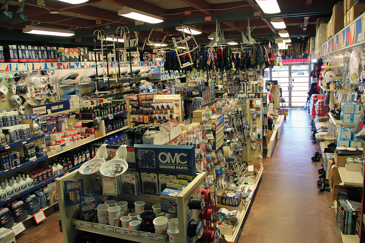 Parts and accessories have become a major profit center.