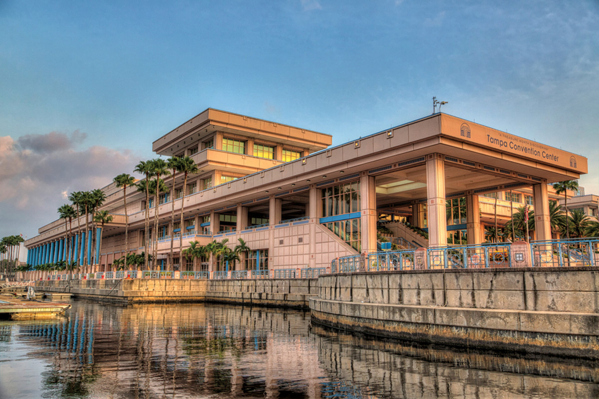 IBEX will feature on-water exhibits and demonstrations this year. The Tampa Convention Center offers easy access to the water.
