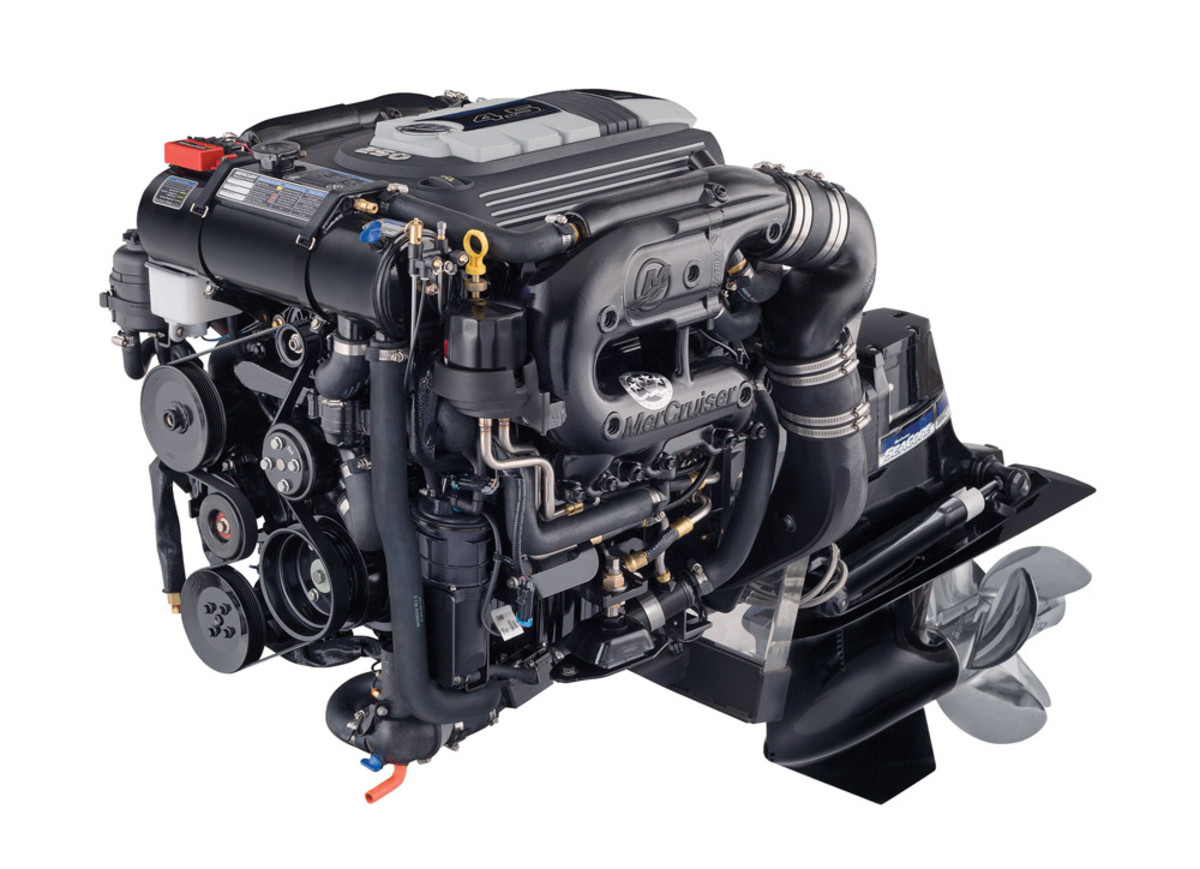 Mercury Marine says its new 4.5-liter, 250-hp MerCruiser sterndrive represents a big change in course for the industry - a move away from retrofitted automotive engines.