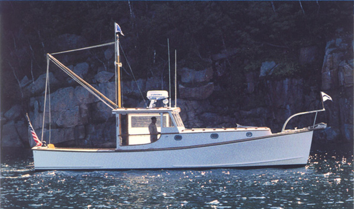 Fishwife, a 38-foot lobsteryacht from the John M. Williams Co.